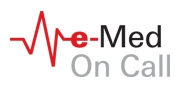 e-med on call logo